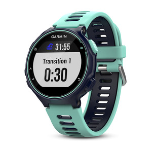 Forerunner 735XT HRM Kék (Midnight Blue & Frost Blue Run Bundle)